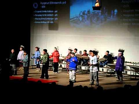 Ayaprun Elitnaurvik 3rd - 6th grade (second) - Camai Dance Festival 2011