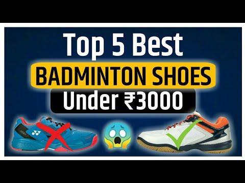 Top 5 Best Badminton Shoes Under ₹3000