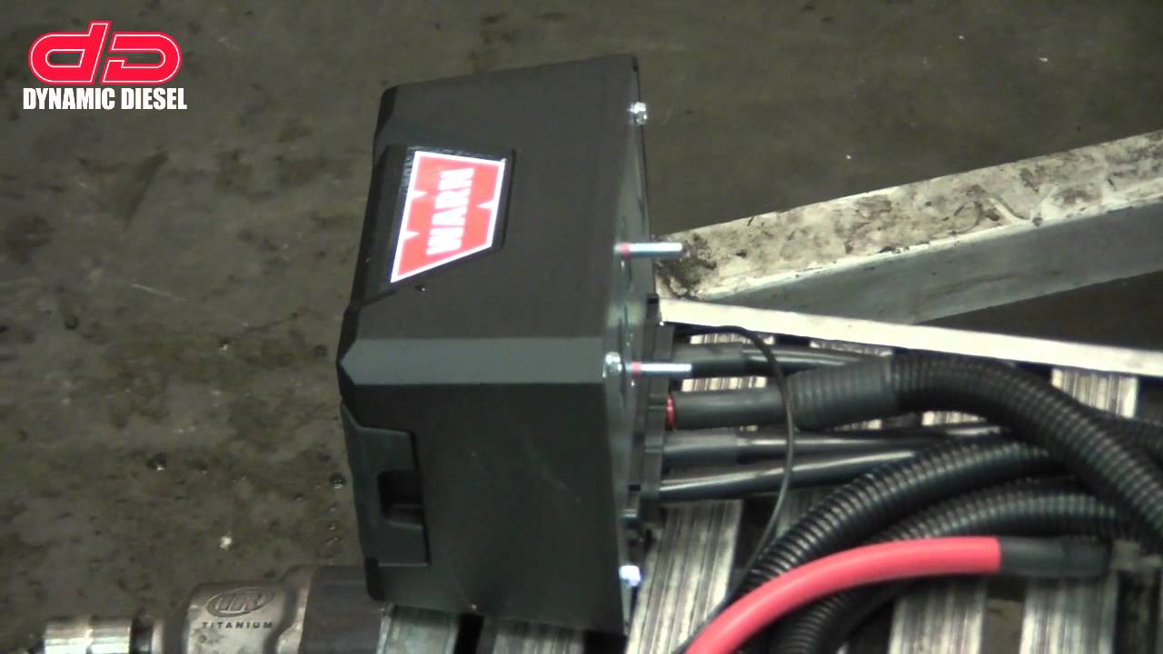 Warn Winch Install Youtube M12000 Wiring Diagram