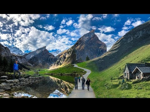 HIKING IN THE SWISS ALPS  |  MOST SCENIC HIKE EVER