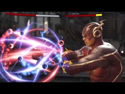 Injustice 2 Atom vs The Flash