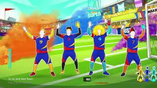 Just Dance 2020: Shakira - Waka Waka (This Time for Africa) Versión Futbolera - (MEGASTAR)