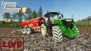 """???? [LIVE] Farming Simulator 19 - """"Wapno i coś jeszcze"""" - Na żywo"""