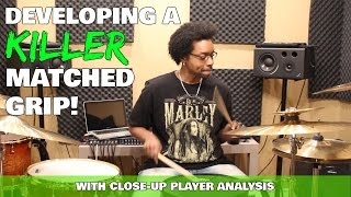 Developing A KILLER MATCHED GRIP w/ Close-Up PLAYER ANALYSIS