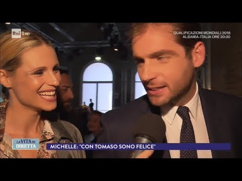"""Michelle Hunziker: """"Pronta per un altro figlio"""" - La Vita in Diretta 09/10/2017"""