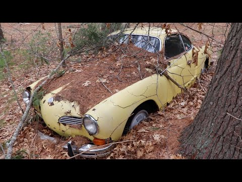 FREE Abandoned Car | Sitting for 32 Years in the Woods | Vw Rescue