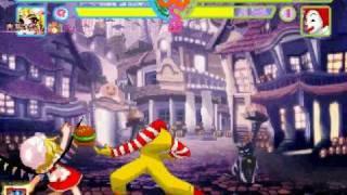 フランドール スカーレット vs. M.C.ドナルド (rematch) Ronald is stil...