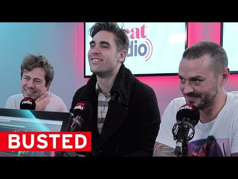 """Our music's more groovy now than jumpy"" - Busted"