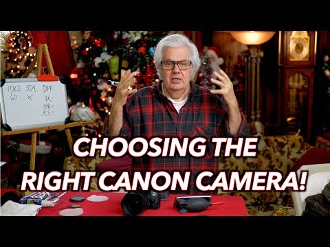 Choosing The Right Canon Camera For YOU