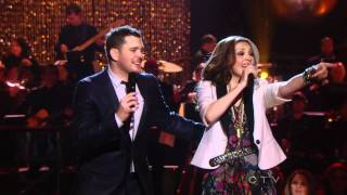 Michael Buble & Thalia  - Feliz Navidad (Mis Deseos) HDTV live
