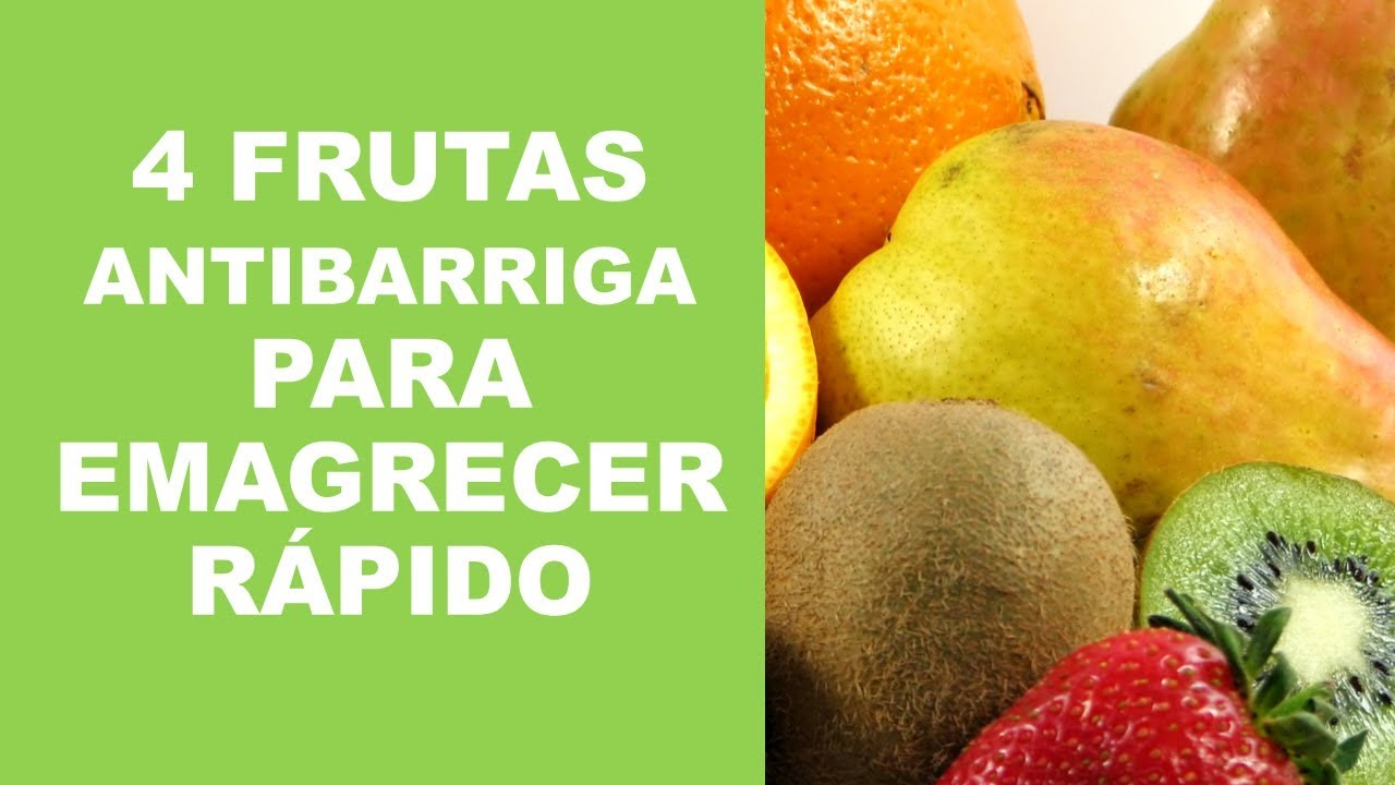 quais as frutas que ajudam a perder peso