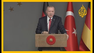 🇹🇷 🇱🇾 أردوغان: مصر والإمارات تدعمان #حفتر وتقدمان السلاح له ولن نترك السراج وحيدا