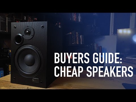 Buyers Guide: Best Speakers for Under $100