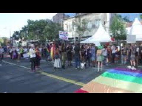 Far-right Disrupt Serbia Gay Pride Parade