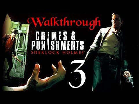 Sherlock Holmes Crimes & Punishments Walkthrough en español 1080p #3