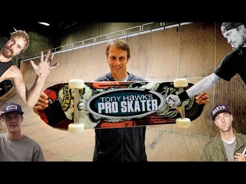 Tony Hawk Reynolds Rowley Muska Thomas New Skate Footage 1 2