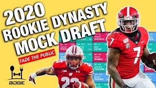 Dynasty Rookie First Round Mock Draft - 2020 Fantasy Football