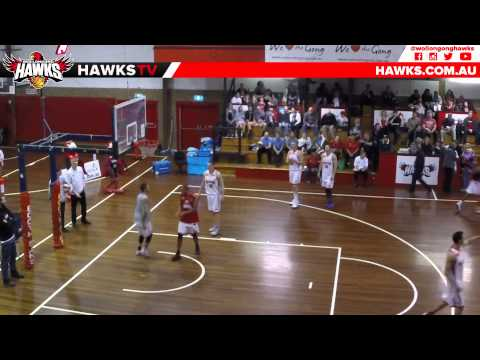 Hawks vs Leopards Match Highlights & Dave Gruber quick chat | Wollongong Hawks