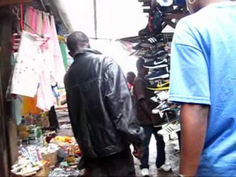 Liberia: Walking in downtown Monrovia