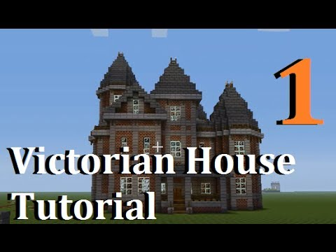 Victorian Style Row House - minecraft-schematics.com