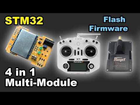 ✅ Updating STM32 4 In 1 IRangeX IRX4 Multi Protocol Module Firmware Flash Taranis Frsky Banggood