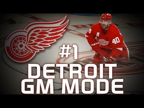 "NHL 14: Detroit Red Wings GM Mode #1 "" The Next Superstar"""