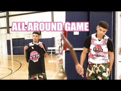 INTHEGYMHOOPS Chicago 3PT Champ Kevin Frazier HAS AN ALL AROUND GAME!