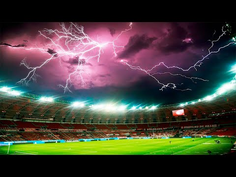SPORTS MATCHES WITH CRAZY WEATHER |