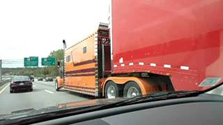 Xtra Big Sleeper On A Peterbilt