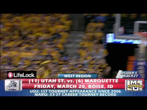 #6 Marquette Golden Eagles vs. #11 Utah St Aggies - March Madness