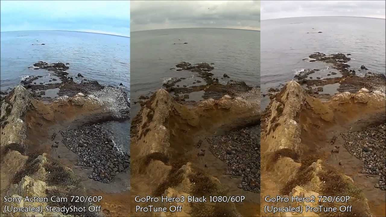 GoPro HD Hero3 White vs Sony HDR-AS10 - The ULTIMATE Action Cam .