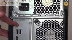 Ports on a CPU of a Desktop Computer (Hindi) (हिन्दी)