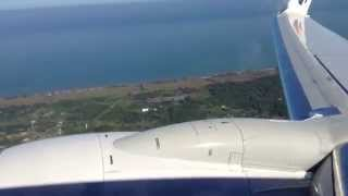 Malaysia Airlines taking off from Miri to Kuching
