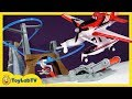 Planes Fire and Rescue Toys Piston Peak Air Track Set Toy Opening