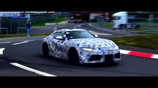 2019 NEW TOYOTA SUPRA SPIED TESTING AT THE NÜRBURGRING