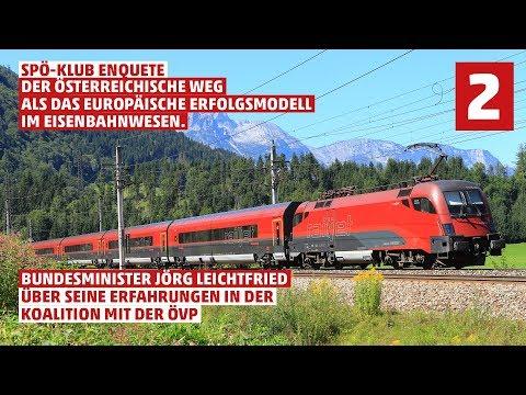 Über die Erfahrungen in der Koalition mit der ÖVP - Jörg Leichtfried