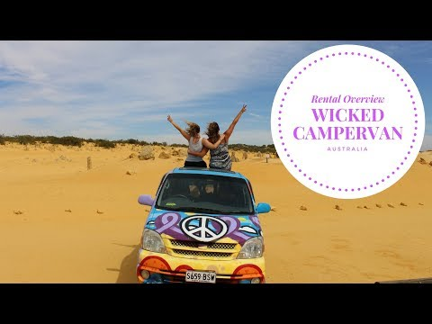 Wicked Camper 3 Sleeper Australia Overview