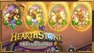 Hearthstone Battlegrounds: The Biggest Pogo-Hopper I Ever Had | Shudderwock | Double Battlecry OP!
