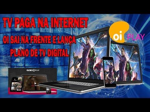 TV Paga pela Internet - OI sai na Frente e Lança Plano de TV Digital