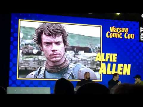 "Warsaw Comic Con Panel  ""Alfie Allen i Hafthor Julius Bjornsson"""