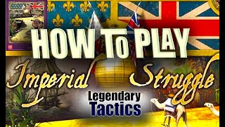 Imperial Struggle - How to Play / NEW GMT GAME! / RULES / Legendary Tactics / Board Game
