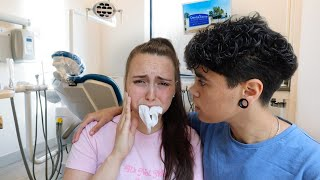 JULES GOT HER WISDOM TEETH PULLED OUT! *EMOTIONAL*