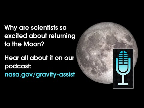 NASA's Gravity Assist Podcast Goes To The Moon