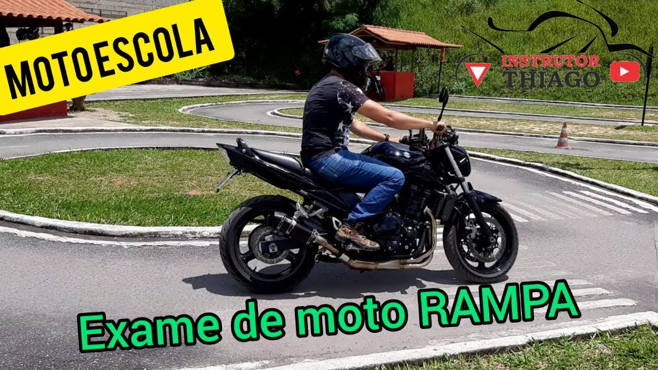 PASSO A PASSO EXAME DE MOTO MG RAMPA