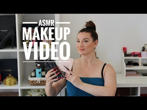 THE ASMR MAKEUP VIDEO YOU NEED TO WATCH   STILETTO NAILS CHALLENGE