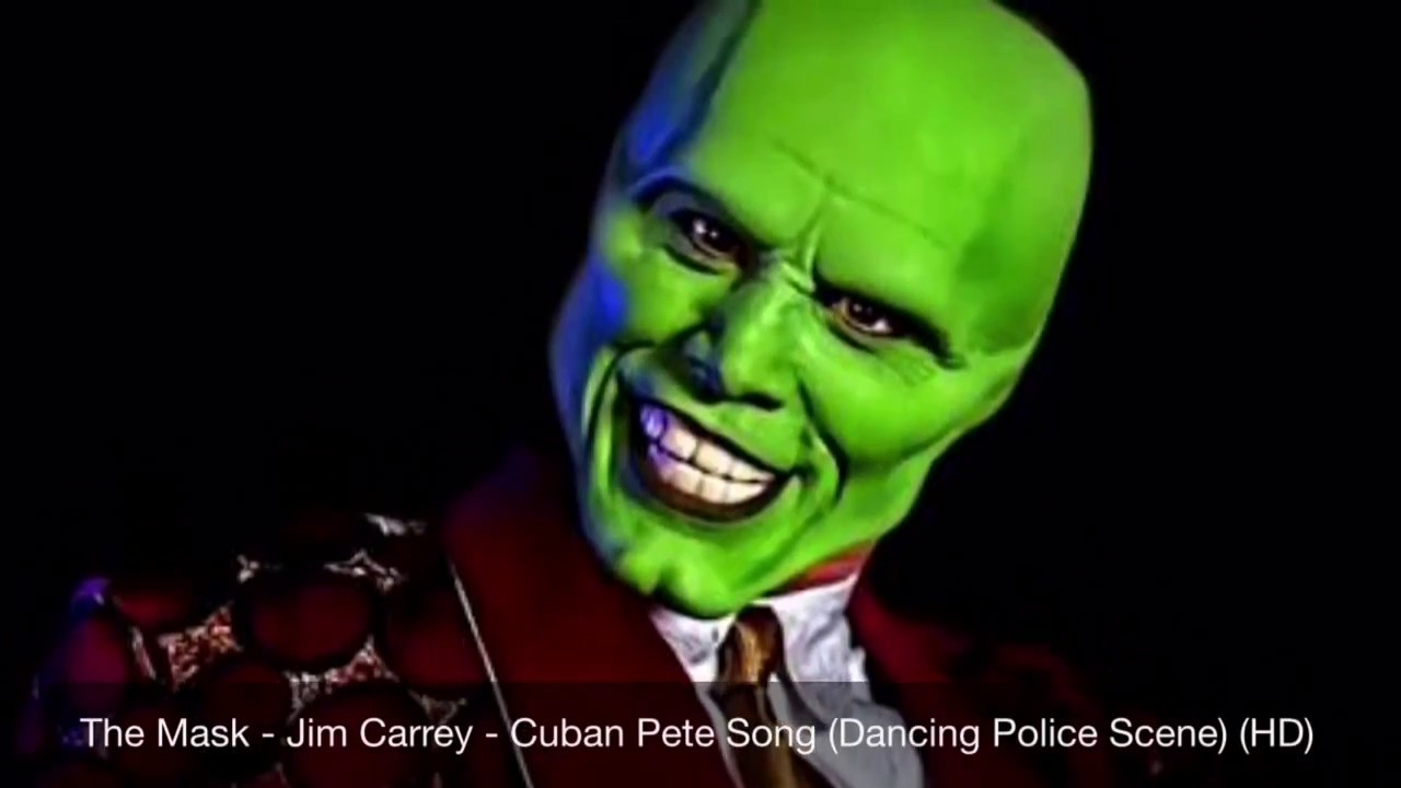 the mask jim carrey cuban pete song dancing police