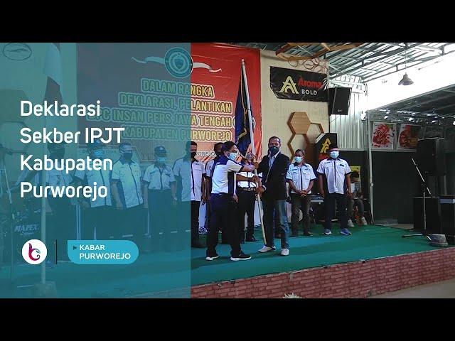 Deklarasi Sekber IPJT Kabupaten Purworejo