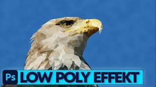 Photoshop Tutorial: Low Poly Effekt (Deutsch)