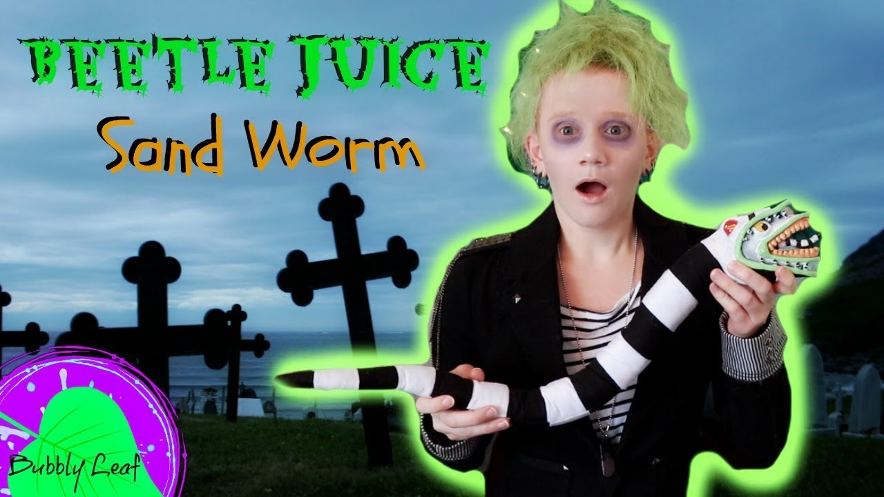 Beetle Juice Sand Worm Posable Artdoll Tutorial Youtube