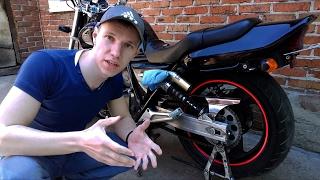 Как Натянуть Цепь на Мотоцикле